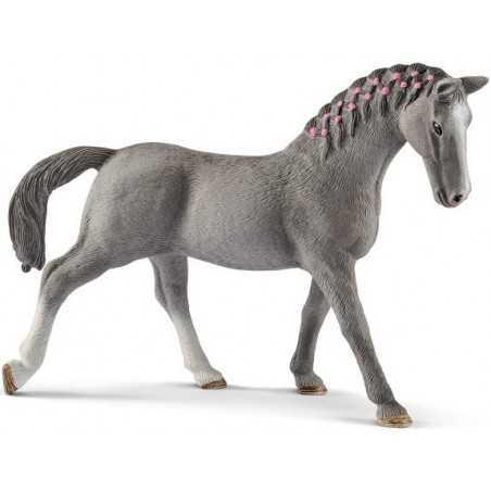 GIUMENTA TRAKEHNER animali in resina SCHLEICH miniature 13888 Horse Club CAVALLI età 3+ Schleich - 1