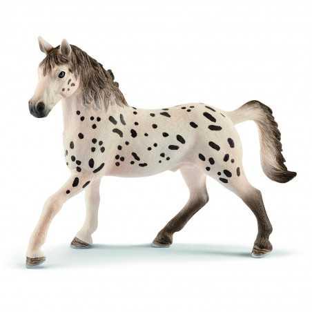 STALLONE KNABSTRUPPER animali in resina SCHLEICH miniature 13889 Horse Club CAVALLI età 3+ Schleich - 1