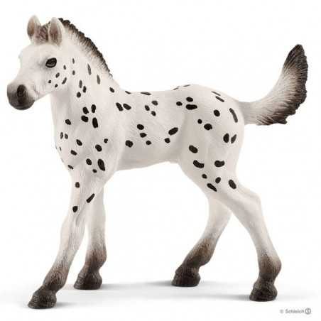 PULEDRO KNABSTRUPPEN animali in resina SCHLEICH miniature 13890 Horse Club CAVALLI età 3+ Schleich - 1