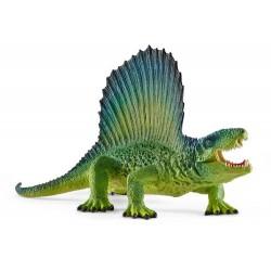 DIMETRODONTE VERDE animali in resina SCHLEICH miniature 15011 Dinosaurs DINOSAURI età 3+ Schleich - 1