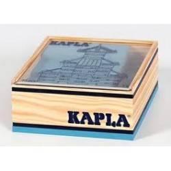 Kapla case 40 PCs bleu couleur