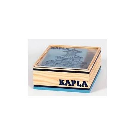 Kapla confezione 40 pz colore azzurro Kapla - 1