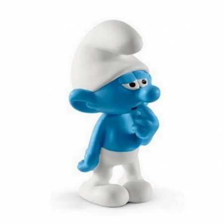 PUFFO TONTOLONE puffi in resina SCHLEICH miniature 20810 The Smurfs ORIGINALE età 3+ Schleich - 1