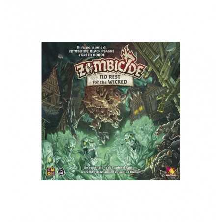 NO REST FOR THE WICKED espansione per ZOMBICIDE black plague e green horde ASMODEE età 14+ Asmodee - 1