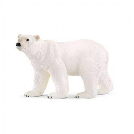 ORSO POLARE animali in resina WILD LIFE miniature SCHLEICH white bear 14800 età 3+ Schleich - 1