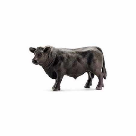 TORO BLACK ANGUS animali in resina FARM WORLD miniature SCHLEICH bull 13282 età 3+ Schleich - 1