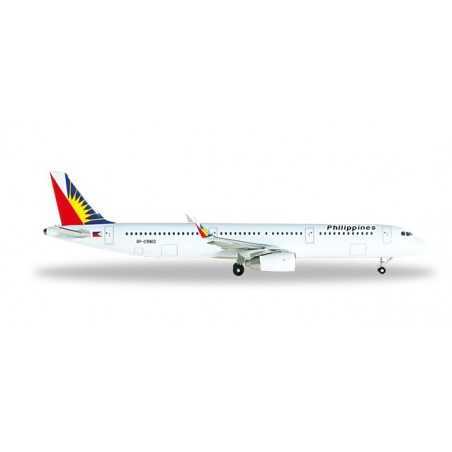 PHILIPPINE AIRLINES AIRBUS A321 modellino HERPA aereo in metallo 526340 scala 1:500 WINGS Herpa - 1