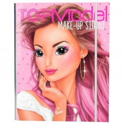 ALBUM MAKE UP STUDIO hayden TOP MODEL kit artistico ALBUM DA COLORARE set ACCESSORIATO TOP MODEL - 1