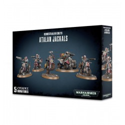 ATALAN JACKALS 5 miniature GENESTEALER CULT Citadel GAMES WORKSHOP Warhammer 40000 40k BIKERS età 12+ Games Workshop - 1