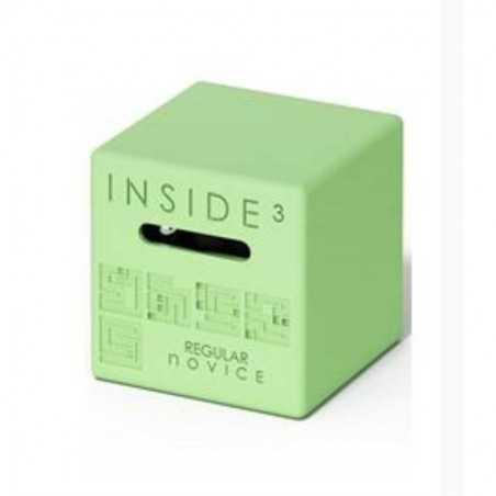 CUBO REGULAR NOVICE verde INSIDE 3 insidezecube MADE IN FRANCE rompicapo PICCOLO E SEMPLICE cube 8+ INSIDE 3 - 1