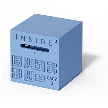 CUBO EASY 0 blu INSIDE 3 insidezecube MADE IN FRANCE rompicapo GRANDE E AVANZATO cube 8+ INSIDE 3 - 1