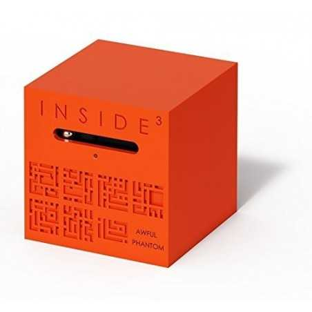 CUBO AWFUL PHANTOM rosso INSIDE 3 insidezecube MADE IN FRANCE rompicapo MOLTO DIFFICILE età 8+ INSIDE 3 - 1
