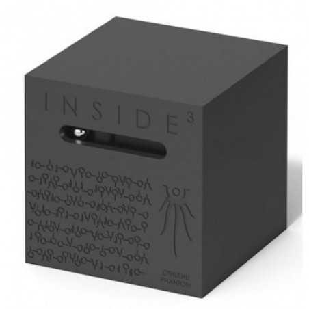 CUBO CTHULHU PHANTOM nero INSIDE 3 insidezecube MADE IN FRANCE rompicapo IMPOSSIBILE età 8+ INSIDE 3 - 1