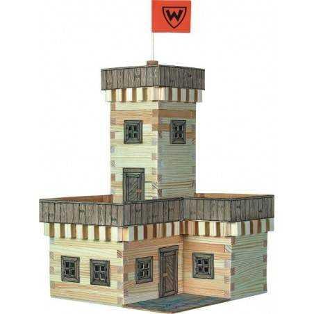 Rocca Castello estate costruzioni in legno Walachia Walachia - 2