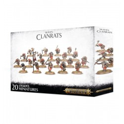 CLANRATS 20 miniature...
