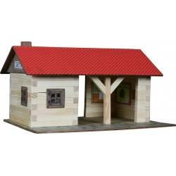 Station en bois