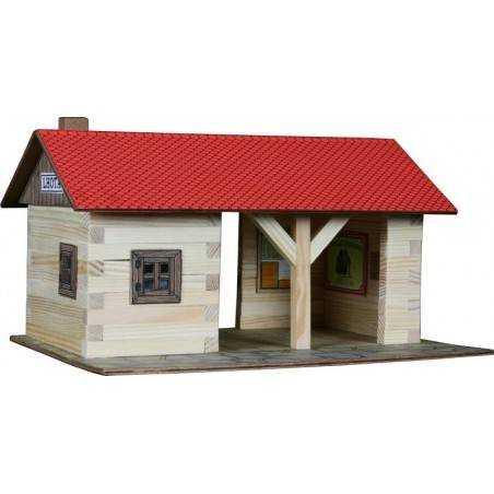 Stazione in legno costruzioni in legno Walachia Walachia - 1