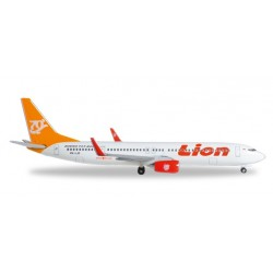 LION AIR BOEING 737-900ER 70° BOEING NEXT GENERATION 737 modellino HERPA aereo in metallo 527989 scala 1:500 WINGS Herpa - 1