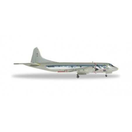 GERMAN NAVY LOCKHEED P-3C ORION MFG3 50° ANNIVERSARY modellino HERPA aereo in metallo 527125 scala 1:500 WINGS Herpa - 1