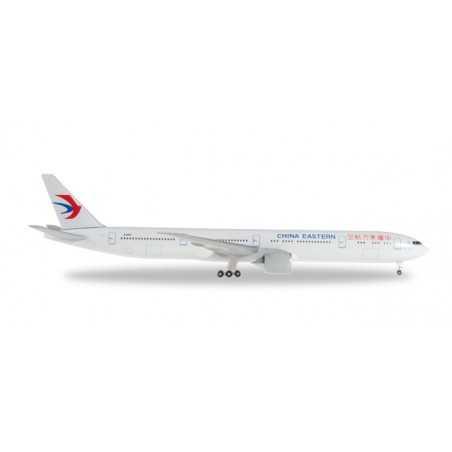 CHINA EASTERN AIRLINES BOEING 777-300ER modellino HERPA aereo in metallo 527705 scala 1:500 WINGS Herpa - 1