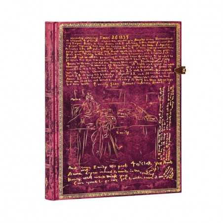Diario a righe BRONTE SISTERS ultra cm 18x23 Paperblanks notebook taccuino Paperblanks - 1