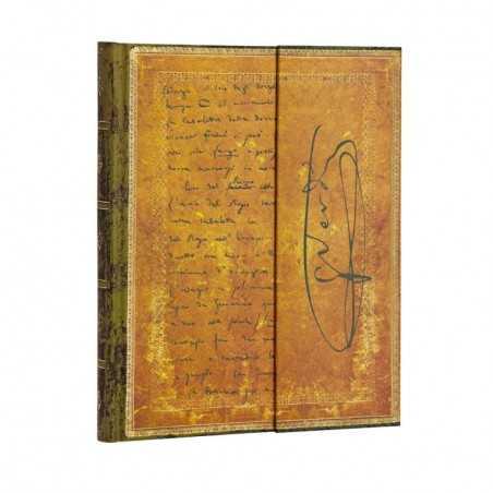 Diario a righe VERDI CARTEGGIO ultra cm 18x23 Paperblanks notebook taccuino Paperblanks - 1