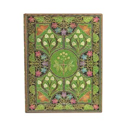Diario flexi planner a puntini POESIA IN FIORE ultra cm 18x23 Paperblanks 240 pagine notebook flessibile taccuino Paperblanks -