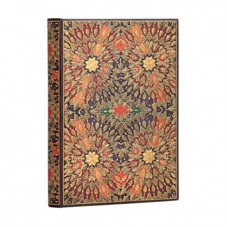 Diario a righe FIORI DI FUOCO 240 pagine midi cm 12x17 Paperblanks notebook taccuino Paperblanks - 1