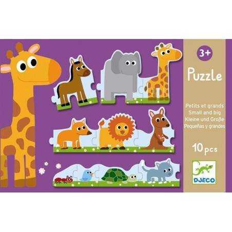 Puzzle Djeco DUO PICCOLO E GRANDE 24 pezzi da 3 anni Djeco - 2