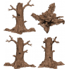 HATE 3D PLASTIC TREES expansion exclusive Kickstarter edition NEW COOLMINIORNOT - 2
