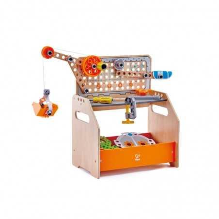 BANCO DA LAVORO set scoperte scientifiche HAPE gioco di imitazione IN LEGNO discovery scientific workbench E3028 età 3+ Hape - 1