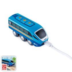 LOCOMOTIVA A CONTROLLO REMOTO remote control engine TELECOMANDATO app gratuita HAPE treni E3726 età 3+ Hape - 1