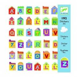 Stickers Letters 160 pz....