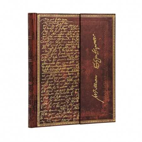 Diario a righe SHAKESPEARE chiusura magnetica 144 pagine midi cm 12x17 Paperblanks notebook taccuino Paperblanks - 1