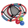 GIOCO A RETE SET morbido 3 PALLINE 2 racchette retate BELEDUC rete a strozzo NET BALL età 4+ Rubbabu - 1