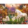 PUZZLE ravensburger MAGICI UNICORNI unicorns ORIGINALE softclick 500 PEZZI 49 x 36 cm Ravensburger - 2