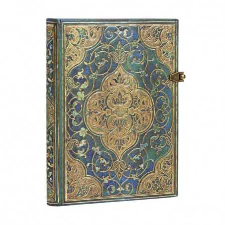 Diario a righe CRONACHE TURCHESI 240 pagine midi cm 12x17 Paperblanks notebook taccuino Paperblanks - 1