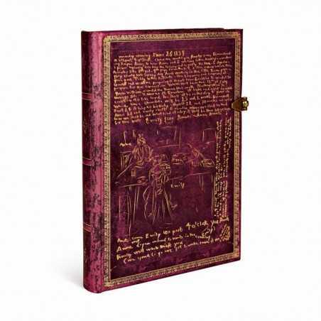 Diario bianco SORELLE BRONTE 240 pagine midi cm 12x17 Paperblanks notebook taccuino Paperblanks - 1
