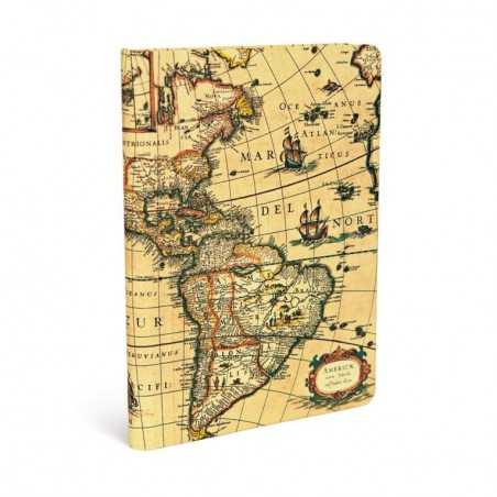 Diario bianco EMISFERO OCCIDENTALE 144 pagine midi cm 12x17 Paperblanks notebook taccuino Paperblanks - 1