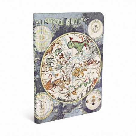 Diario a righe PLANISFERO CELESTE midi cm 12x17 Paperblanks notebook taccuino Paperblanks - 1