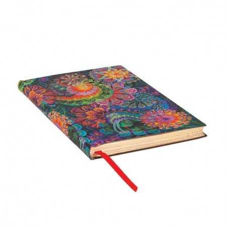 Diario flexi a righe CHIARO DI LUNA midi cm 13x18 Paperblanks 176 pagine notebook flessibile taccuino Paperblanks - 1