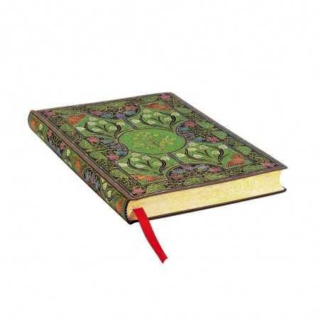 Diario flexi bianco POESIA IN FIORE midi cm 13x18 Paperblanks 240 pagine notebook flessibile taccuino Paperblanks - 1