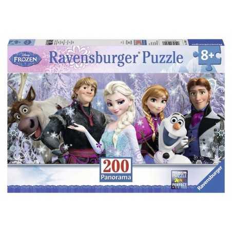 PUZZLE 200 PEZZI Ravensburger FROZEN panorama DISNEY perfect age fit 57 X 24 CM età 8+ Ravensburger - 1