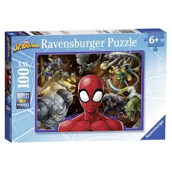 PUZZLE 100 PEZZI ravensburger SPIDERMAN xxl MARVEL perfect age fit 49 X 36 CM età 6+ Ravensburger - 1