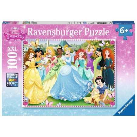 PUZZLE 100 PEZZI ravensburger PRINCIPESSE xxl DISNEY perfect age fit 49 X 36 CM età 6+ Ravensburger - 1