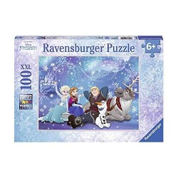 PUZZLE 100 PEZZI ravensburger FROZEN xxl DISNEY perfect age fit 49 X 36 CM età 6+ Ravensburger - 1