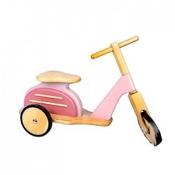 VESPA in legno ROSA scooter...