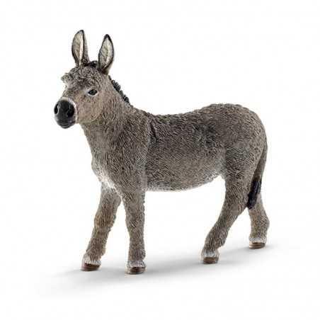 ASINO animali in resina SCHLEICH miniature 13772 farm world DONKEY età 3+ Schleich - 1