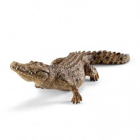 COCCODRILLO animali in resina SCHLEICH miniature 14736 wild life CROCODILE età 3+ Schleich - 1