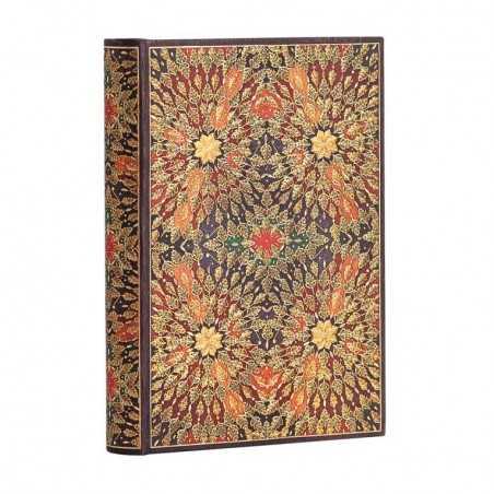 Diario a righe FIORI DI FUOCO mini cm 10x14 Paperblanks 240 pagine notebook taccuino Paperblanks - 1